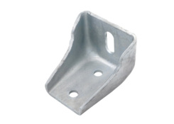 Mounting bracket 90 mm, hot zinc